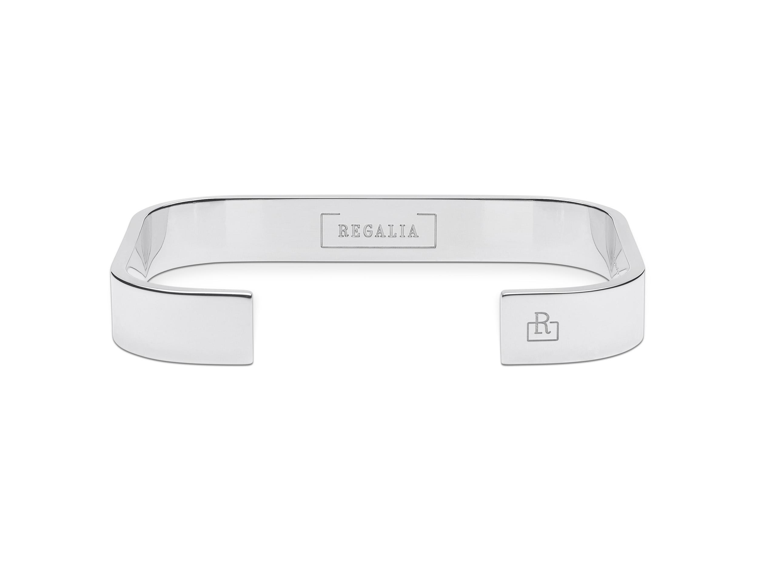 Regalia jewelry bracelet Sterling silver men women-R9P1