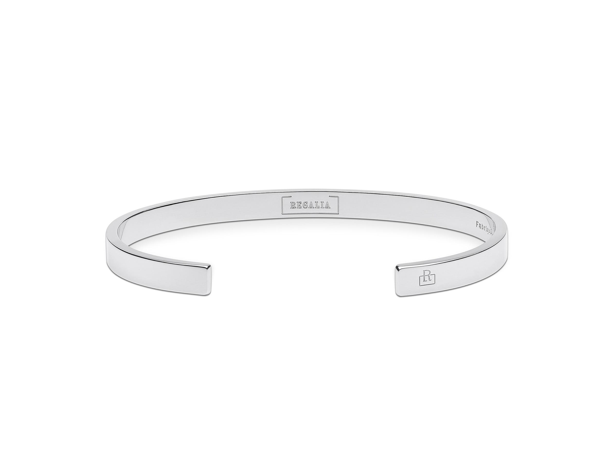 Regalia bijou bracelet argent massif homme femme-REN5P1