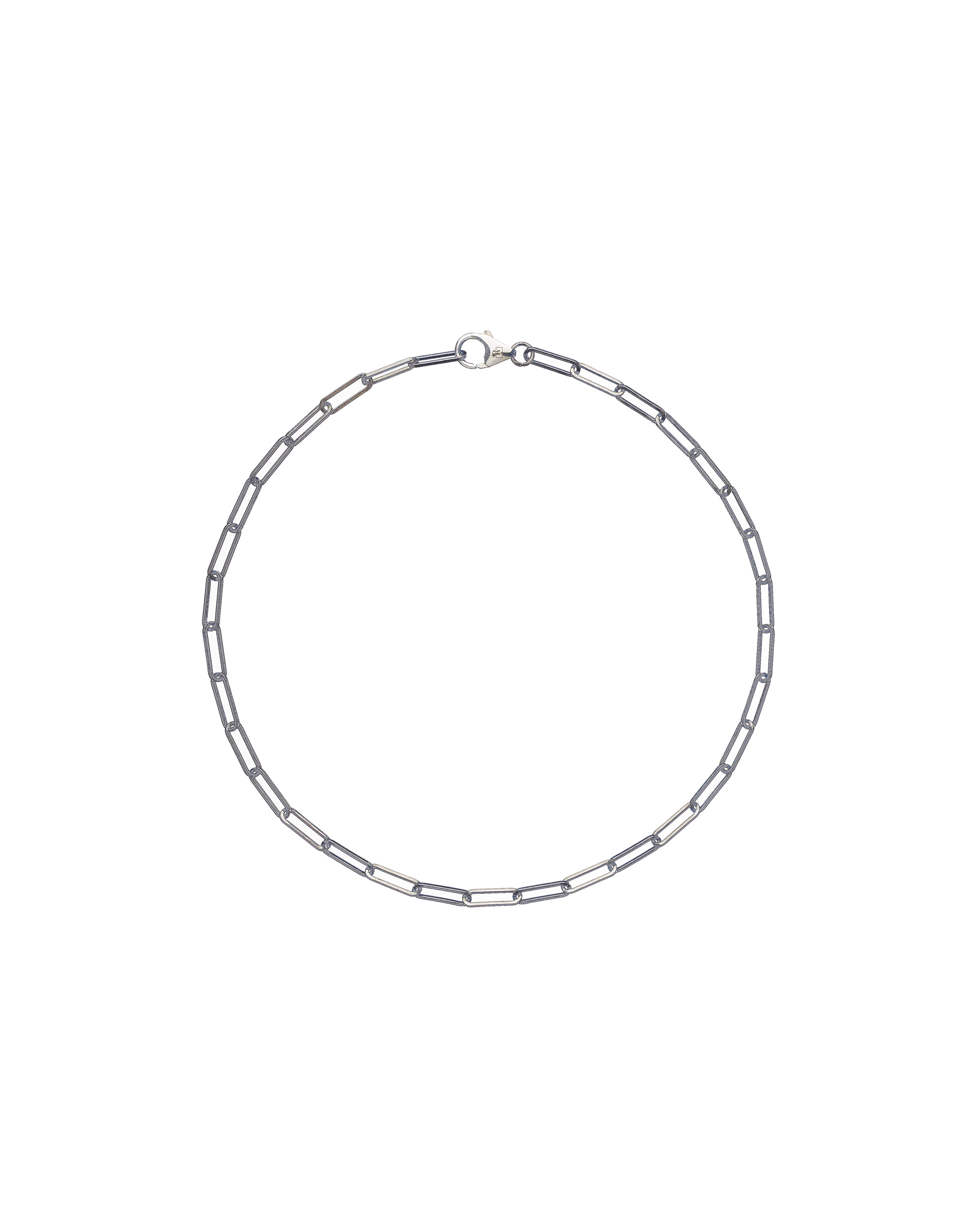 solid 925 Sterling silver chain luxury necklace