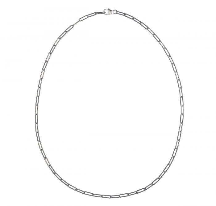 solid 925 Sterling silver chain luxury necklace fom Regalia Logo collection
