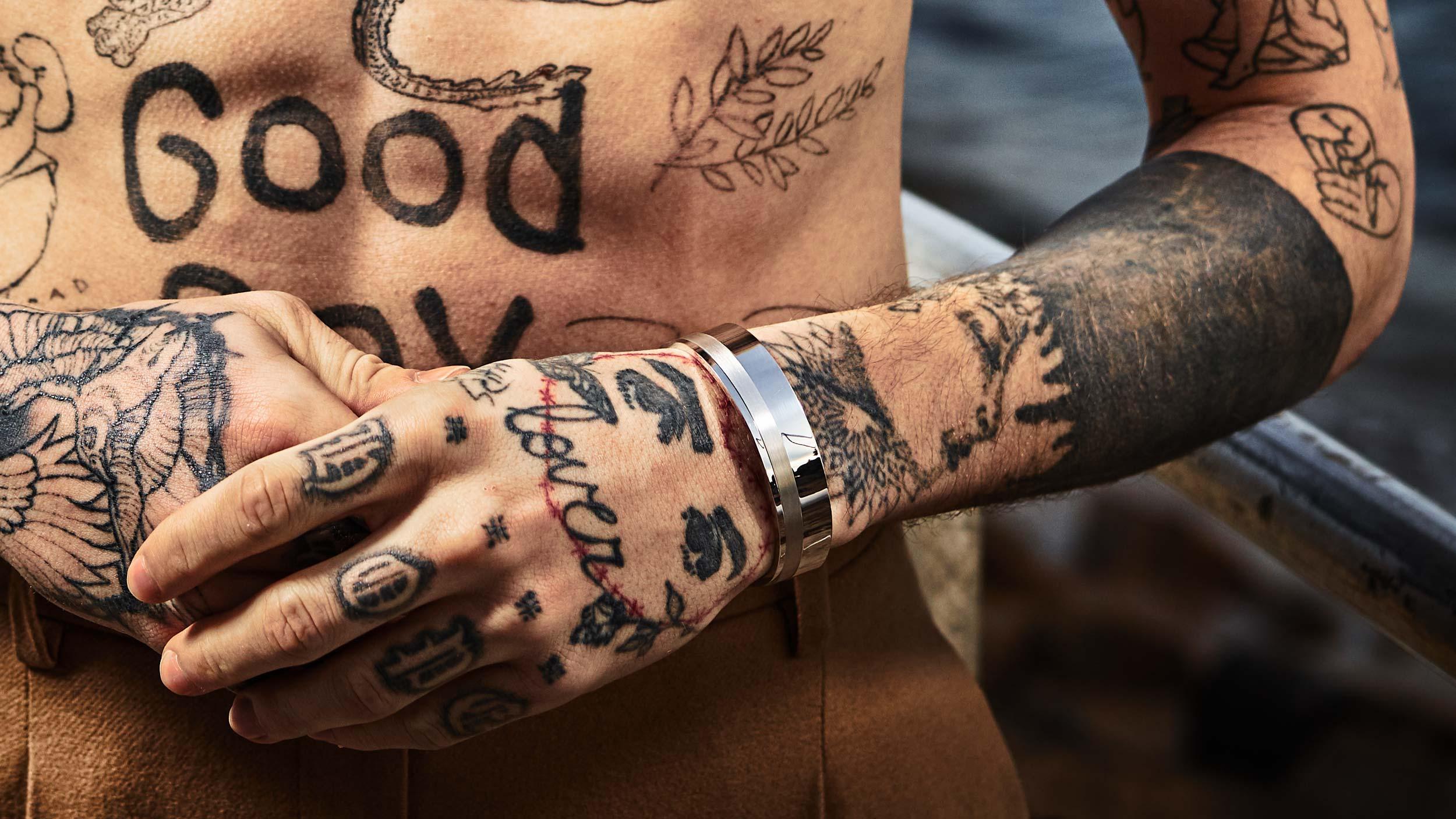 Bracelets Regalia en argent massif collection Renaissance homme